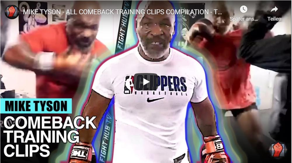 Boxkampf Mike Tyson